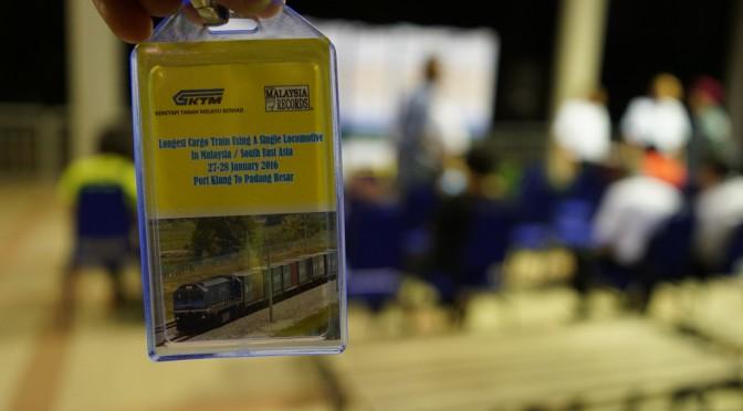 Majlis Pelancaran KTMB : TMBOR : The Longest Cargo Train