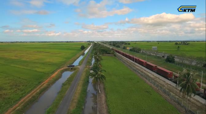 KTMB : The Longest Cargo Train Using Single Locomotive